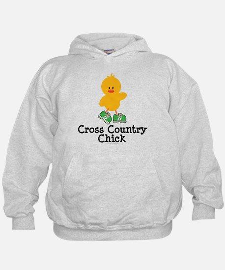 Cross Country Chick Hoodie