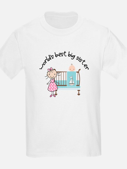big sister little sister matching T-Shirt