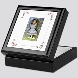 Paper Doll Alice in Wonderland Keepsake Box