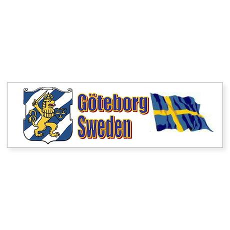Gothenburg Bumper Sticker