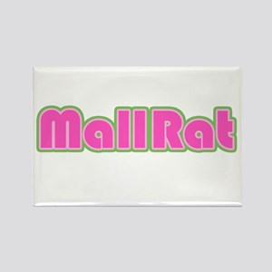 Mall Rat Rectangle Magnet