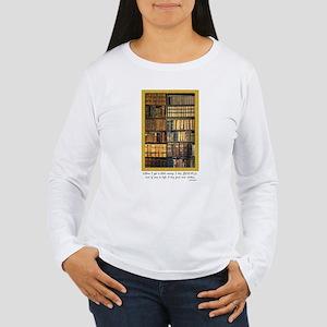 Erasmus Quote Women's Long Sleeve T-Shirt