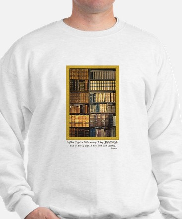 Erasmus Quote Sweatshirt