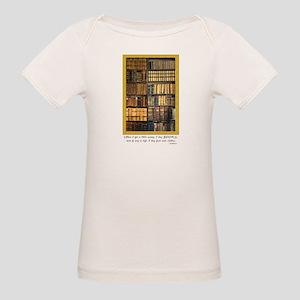 Erasmus Quote Organic Baby T-Shirt