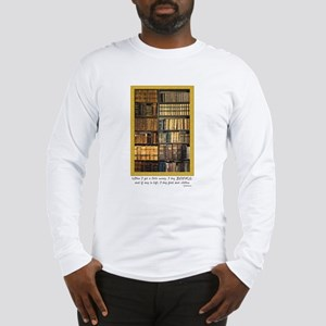 Erasmus Quote Long Sleeve T-Shirt