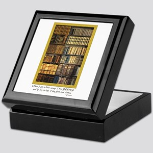 Erasmus Quote Keepsake Box