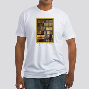 Erasmus Quote Fitted T-Shirt