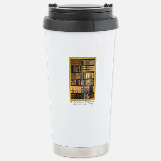 Erasmus Quote Stainless Steel Travel Mug