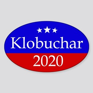 Klobuchar 2020 Sticker (oval)