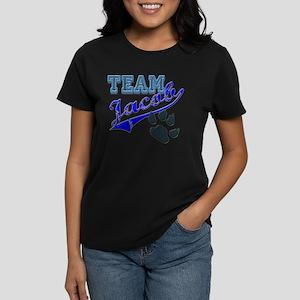 Team Jacob New Moon Movie Des Women's Dark T-Shirt