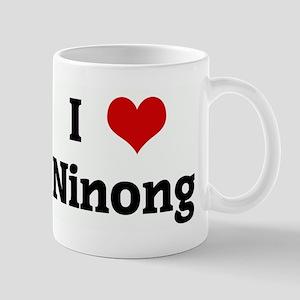I Love Ninong Mug