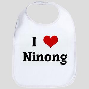 I Love Ninong Bib