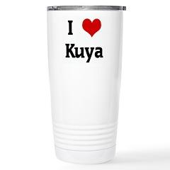 I Love Kuya Stainless Steel Travel Mug