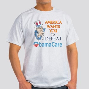 Health Care Defeat Light T-Shirt