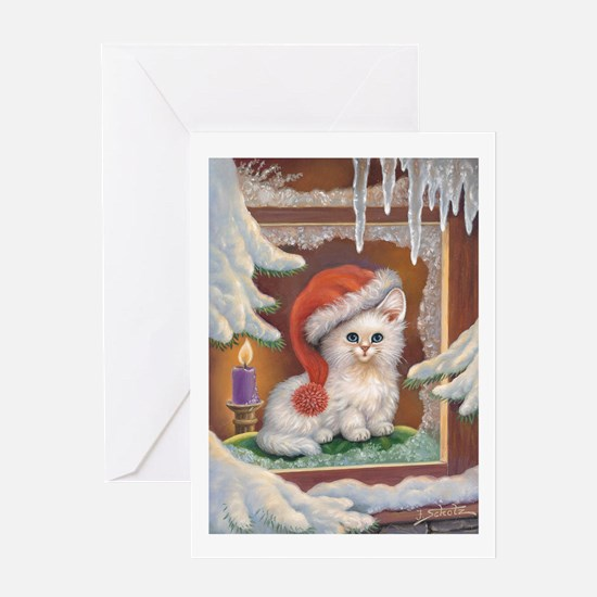 cuddly kittens Greeting Card