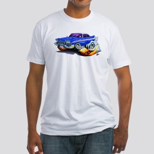 1958-59 Fury Blue Car Fitted T-Shirt