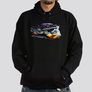 1958-59 Fury Black Car Hoodie (dark)