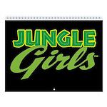 Jungle Girls 12-Month Wall Calendar