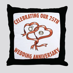 20th Throw Pillow