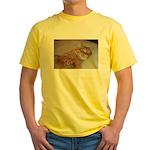 Cat Nap Yellow T-Shirt