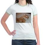 Cat Nap Jr. Ringer T-Shirt