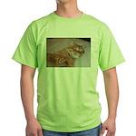 Cat Nap Green T-Shirt