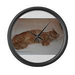 Tabby Large Wall Clock