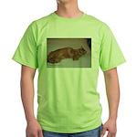 Tabby Green T-Shirt