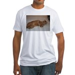 Tabby Fitted T-Shirt