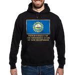 New Hampshire Proud Citizen Hoodie (dark)
