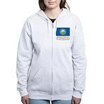 New Hampshire Proud Citizen Women's Zip Hoodie