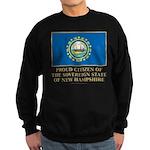 New Hampshire Proud Citizen Sweatshirt (dark)