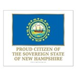 New Hampshire Proud Citizen Small Poster