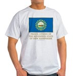 New Hampshire Proud Citizen Light T-Shirt
