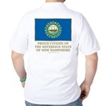 New Hampshire Proud Citizen Golf Shirt