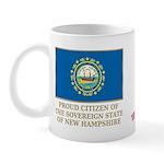 New Hampshire Proud Citizen Mug