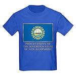 New Hampshire Proud Citizen Kids Dark T-Shirt