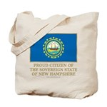New Hampshire Proud Citizen Tote Bag