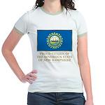 New Hampshire Proud Citizen Jr. Ringer T-Shirt
