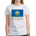New Hampshire Proud Citizen Women's T-Shirt