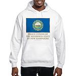New Hampshire Proud Citizen Hooded Sweatshirt