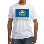 New Hampshire Proud Citizen Fitted T-Shirt