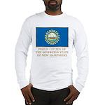 New Hampshire Proud Citizen Long Sleeve T-Shirt