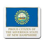 New Hampshire Proud Citizen Mousepad