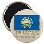 New Hampshire Proud Citizen Magnet