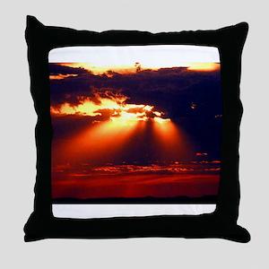 Sacred Sunshine Throw Pillow