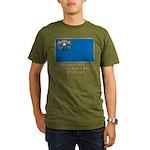 Nevada Proud Citizen Organic Men's T-Shirt (dark)