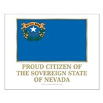 Nevada Proud Citizen Small Poster