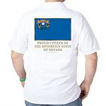 Nevada Proud Citizen Golf Shirt