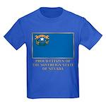 Nevada Proud Citizen Kids Dark T-Shirt